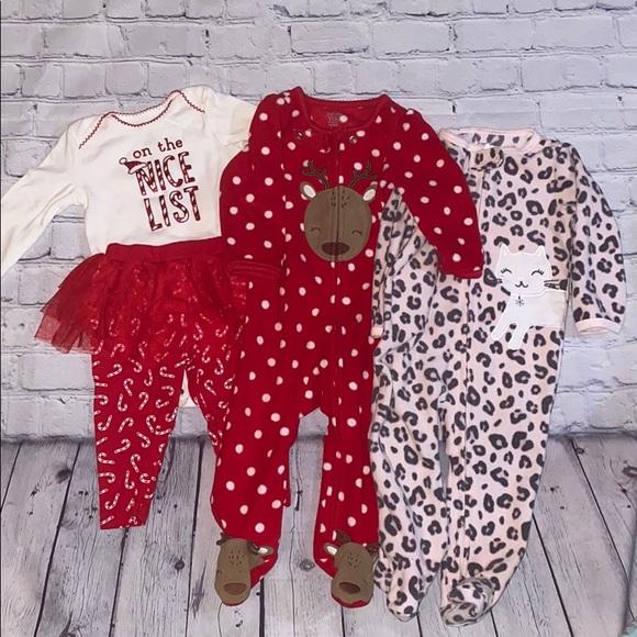 Christmas Baby Girl Bundle Clothing